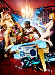David LaChapelle, 'Most Perfect Work II (Kehinde Wiley)', 2005