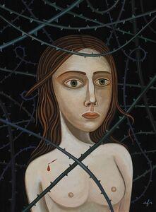 Anne Faith Nicholls, 'Through the Thorns', 2017