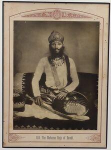 Raja Deen Dayal, 'The Maharao Raja of Bundi', ca. 1890