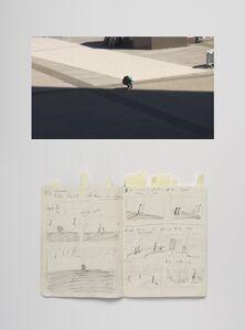 Paulien Oltheten, 'Shadow, Notebook', 2020