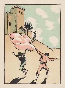 Hermann-Paul, 'Douze dessins pour amour de Goya, composés et gravés par Hermann-Paul', 1500