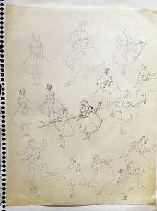 Anna Walinska, 'Dancers #27', 1928