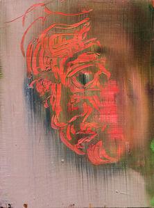 Barbara Friedman, 'Untitled ( Classical head)', 2014
