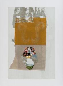 Lisa Bulawsky, 'NP-C016_pollock_woodcut_square', 2017