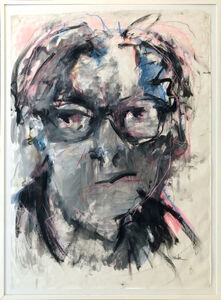 Mary Montes, 'Contemplation (de Kooning)', 2017