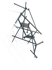 Edoardo Villa, 'Black Rhombus I', 1998