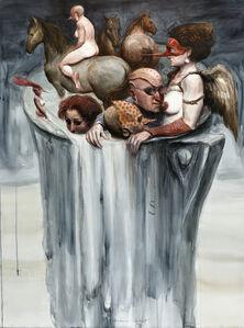 Roberto Fabelo, 'Venecia con Tigo', 2011