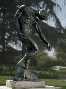 Auguste Rodin, 'The Shade', first modeled ca. 1880, enlarged ca. 1901, this cast 1969