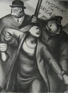 George Biddle, 'The American Scene #1', 1934