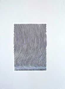 Megan Francis Sullivan, 'Poster (Bridget Riley's first exhibition in New York City, Feigen Gallery, 1965)', 2009