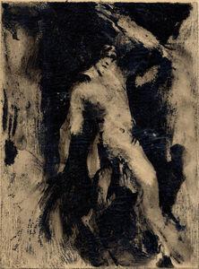 Ker Xavier Roussel, 'Silhouette sur fond noir', 1930-1935