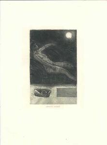 Félicien Rops, 'Détritus humain', 1906