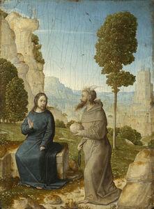 Juan de Flandes, 'The Temptation of Christ', ca. 1500/1504