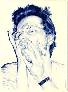 Juan Francisco Casas, 'Self portrait', 2010