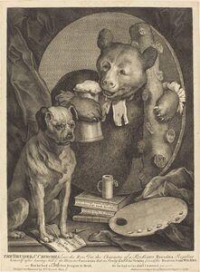 William Hogarth, 'The Bruiser', 1763