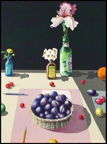 Paul Wonner, 'Basket of Plums', 1982