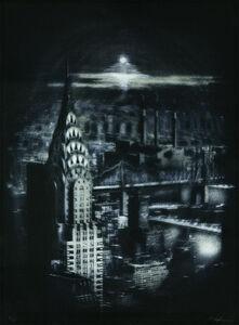 Peter Liepke, 'Entering Metropolis', 1979