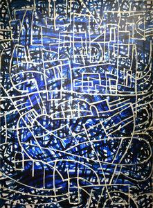Robert Petrick, 'Sound in Blue #2', 2018