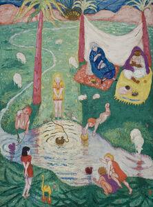 Florine Stettheimer, 'Easter Picture', 1915-1917