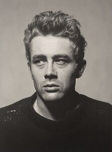 Roy Schatt, 'James Dean from the Torn Sweater Series', 1954-printed later