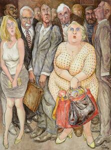 Pat Oliphant, 'Elevator', 2010