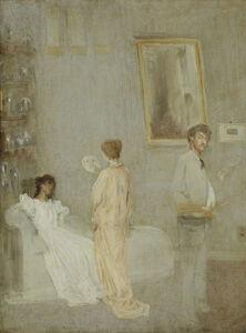 James Abbott McNeill Whistler, 'The Artist in his Studio', 1865-1866
