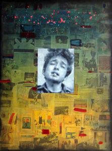 Brian Batt, ' DYLAN ON COLLAGE', 2014