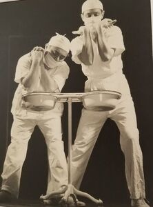 Ralph Steiner, 'Men In White', 1938