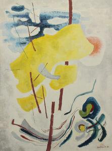 Emil Bisttram, 'Windblown', 1959