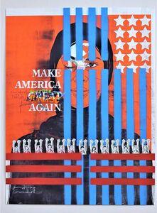 Ganzeer, 'MAKE AMERICA', 2018