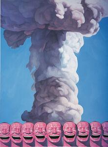 Yue Minjun, 'Mushroom Cloud', 2002