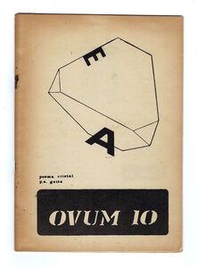 Clemente Padín, 'OVUM 10 (nº5)', 1970