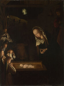 Geertgen tot Sint Jans, 'Nativity at Night ', ca. 1490