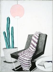 Erik Parra, 'Untitled (Purple Stripes)', 2018