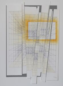 Tsuyoshi Hisakado, 'Documentize -geometric intervention #2-', 2017