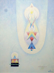 Emil Bisttram, 'Ascension', 1964
