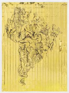 Pietro Ruffo, 'Gold Migration, South America', 2018