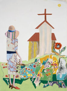 Benny Andrews, 'Flowers', 1992