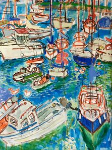 Elizabeth Cope, 'Boats in Courtown ', 2011