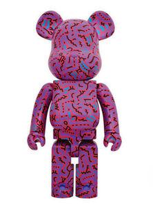 Keith Haring, 'BEARBRICK 1000% KEITH HARING V2 ', 2018