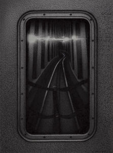 Anthony Mitri, 'Hind Sight 2, D Train, NYC', 2020
