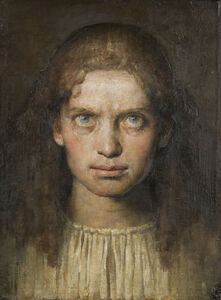 Odd Nerdrum, 'Portrait of a Young Girl', 1992-1993