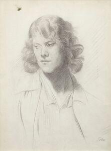 Augustus John, 'Edith Lees', ca. 1910