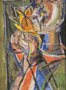 Renato Birolli, 'Studio per figura', 1947