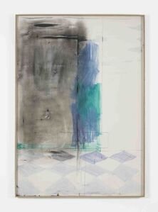 Nick Mauss, 'conducted underneath', 2014