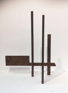 Marino di Teana, 'Dialogue architectural n°4 ou Structure architecturale n°92', ca. 1958