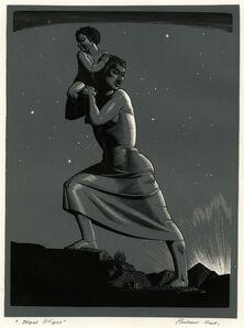 Rockwell Kent, 'Night Flight', 1941