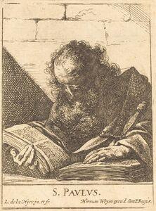 Laurent de La Hyre, 'Saint Paul', 1620s