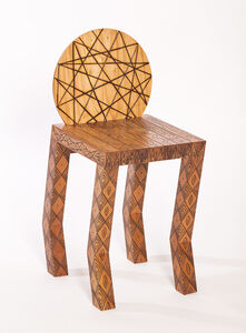 Pedro Barrail, 'Tattoo Stool', 2008