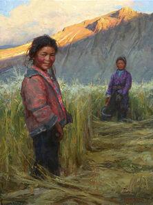 Scott Burdick, 'Tibetan Sisters', ca. 2020